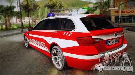 BMW M5 Touring NEF для GTA San Andreas вид слева