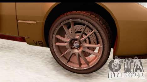 Spada Codatronca TS для GTA San Andreas вид сзади