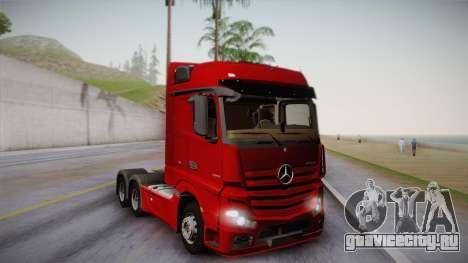 Mercedes-Benz Actros Mp4 6x4 v2.0 Bigspace v2 для GTA San Andreas