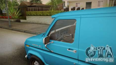 Ford E-150 Commercial Van 1982 2.0 для GTA San Andreas вид сзади слева