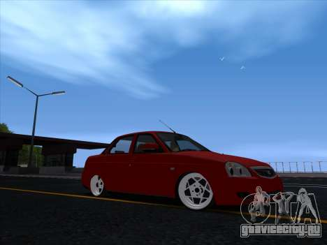 VAZ 2170 STANCE для GTA San Andreas вид слева