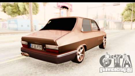 Dacia 1310 PTM для GTA San Andreas вид сзади слева