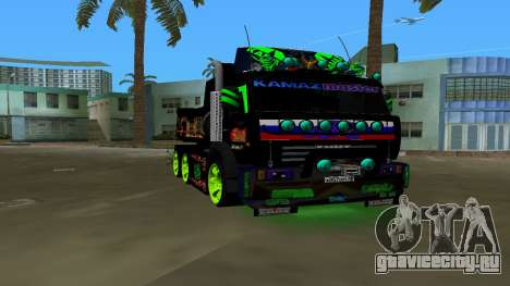 KAMAZ 65115 TUNING для GTA Vice City