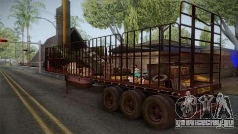 Mack R600 v1 Trailer для GTA San Andreas вид слева