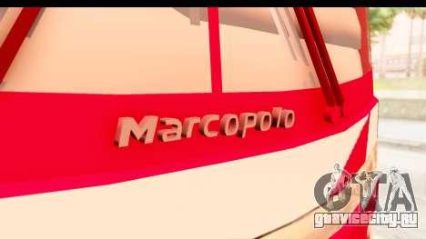 Smaga Bus для GTA San Andreas вид сзади