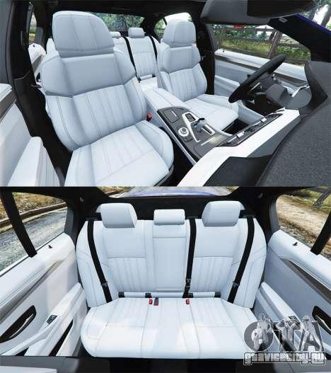 BMW M5 (F10) 2012 [replace] для GTA 5 руль и приборная панель