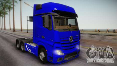 Mercedes-Benz Actros Mp4 6x4 v2.0 Gigaspace для GTA San Andreas