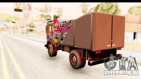 Sticker Bomb Dune для GTA San Andreas вид слева