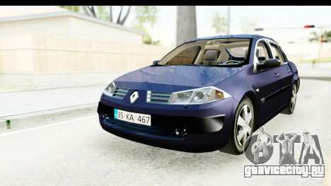 Renault Megane 2 Sedan 2003 v2 для GTA San Andreas
