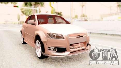 Audi S3 Slaam для GTA San Andreas