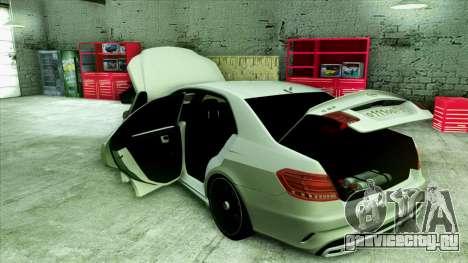 Mercedes-Benz E63 v.2 для GTA San Andreas колёса