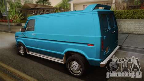 Ford E-150 Commercial Van 1982 2.0 для GTA San Andreas вид слева