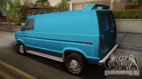 Ford E-150 Commercial Van 1982 2.0 для GTA San Andreas вид слева