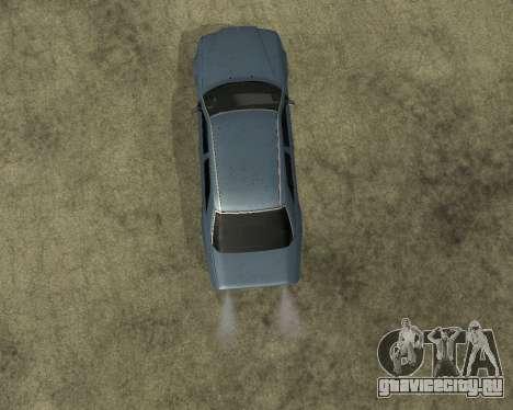 Mersedes-Benz E-500 Armenian для GTA San Andreas вид сзади