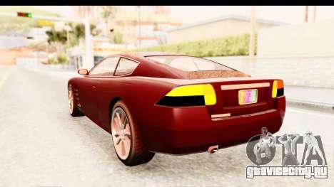 GTA EFLC TBoGT F620 v2 IVF для GTA San Andreas вид слева
