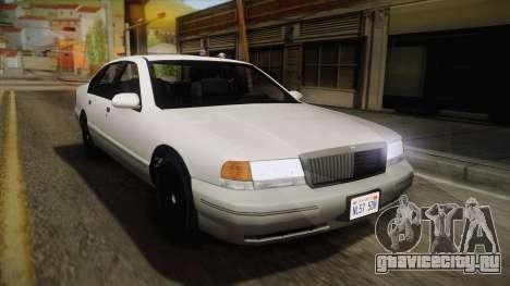Willard Elegant IVF для GTA San Andreas