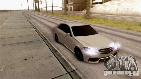 Mercedes-Benz E63 v.2 для GTA San Andreas вид слева