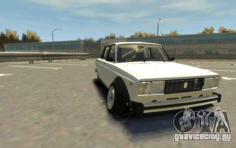 VAZ 2105 Drift (Paul Black prod.) для GTA 4