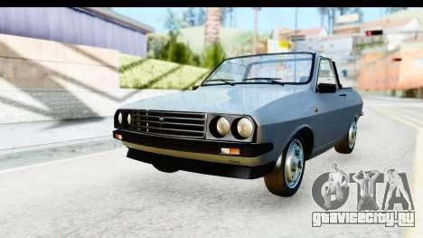 Dacia 1300 Sport Cabrio для GTA San Andreas вид справа
