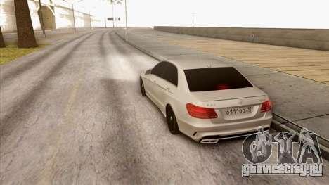 Mercedes-Benz E63 v.2 для GTA San Andreas вид справа