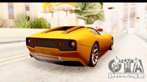 Lucra L148 2016 для GTA San Andreas вид слева