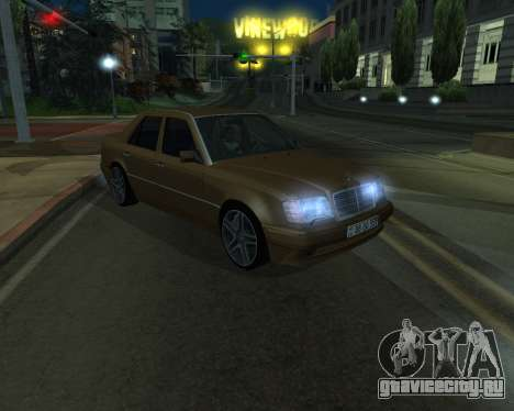 Mersedes-Benz E-500 Armenian для GTA San Andreas