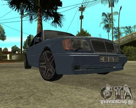 Mersedes-Benz E-500 Armenian для GTA San Andreas вид слева