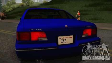 Declasse Premier 1992 IVF для GTA San Andreas вид справа