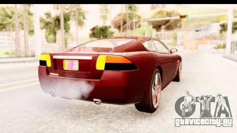 GTA EFLC TBoGT F620 v2 IVF для GTA San Andreas вид справа