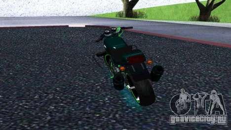Jawa 350 638 Sports для GTA San Andreas вид сзади слева