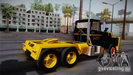 Mack R600 v1 для GTA San Andreas вид слева