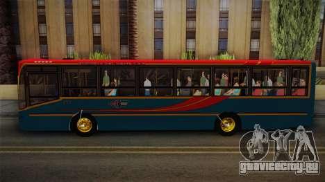Nuovobus MB OF1418 Linea 302 для GTA San Andreas вид сзади слева