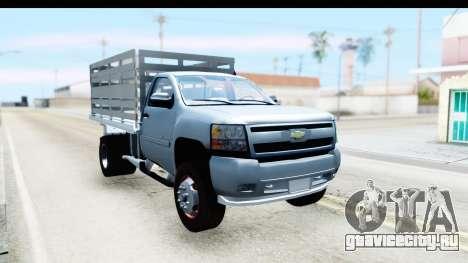 Chevrolet Silverado 2011 для GTA San Andreas вид справа