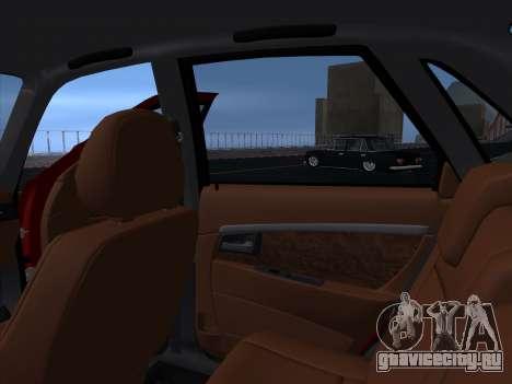 VAZ 2170 STANCE для GTA San Andreas вид сбоку