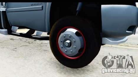 Chevrolet Silverado 2011 для GTA San Andreas вид сзади
