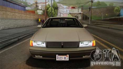 Declasse Premier 1992 SA Style для GTA San Andreas вид изнутри