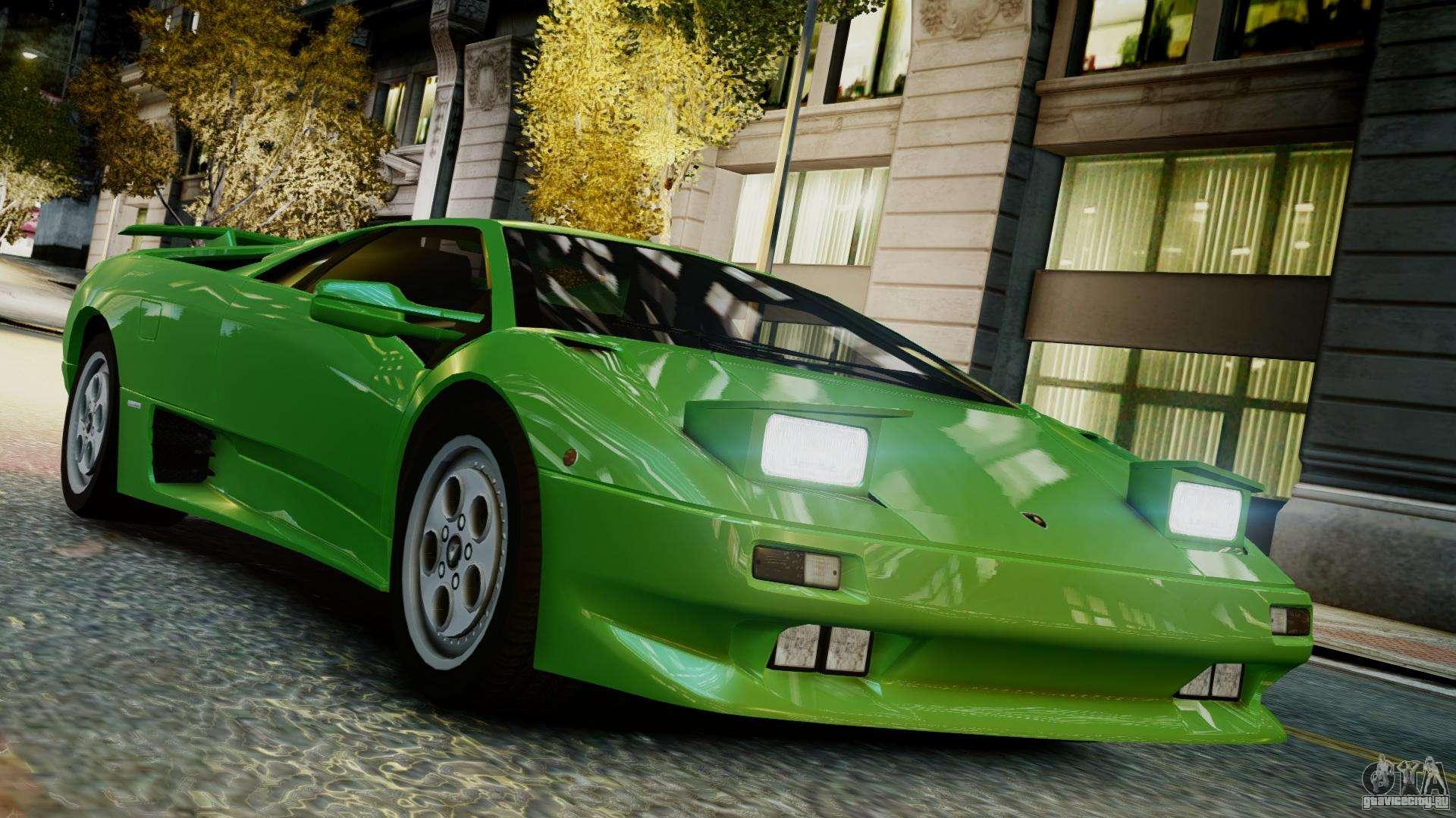 Lamborghini diablo vt 1990
