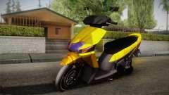 Honda Vario Yellow Shines для GTA San Andreas