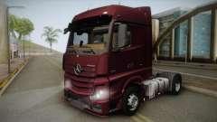 Mercedes-Benz Actros Mp4 4x2 v2.0 Bigspace v2 для GTA San Andreas