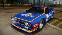 Lancia Rally 037 Stradale (SE037) 1982 HQLM PJ3 для GTA San Andreas