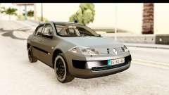 Renault Megane 2 Sedan Unmarked Police Car