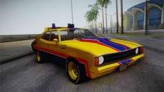 Main Force Patrol Vehicle Mad Max для GTA San Andreas
