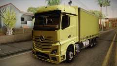 Mercedes-Benz Actros Mp4 v2.0 Tandem Big для GTA San Andreas
