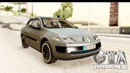 Renault Megane 2 Sedan Unmarked Police Car для GTA San Andreas
