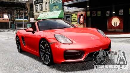 Porsche Boxster GTS 2014 для GTA 4