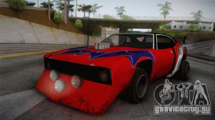 Ford Falcon 1972 Red Bat для GTA San Andreas