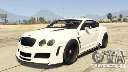 Undercover Bentley Continetal GT 1.0 для GTA 5