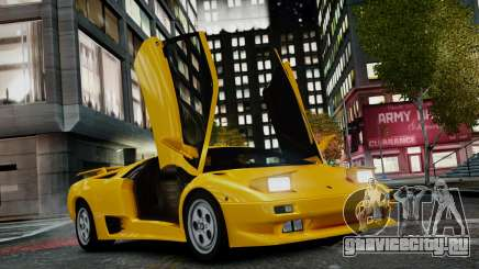 Lamborghini Diablo VT 1990 для GTA 4