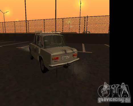 VAZ 21013 Krasnoyarsk stil для GTA San Andreas вид сзади