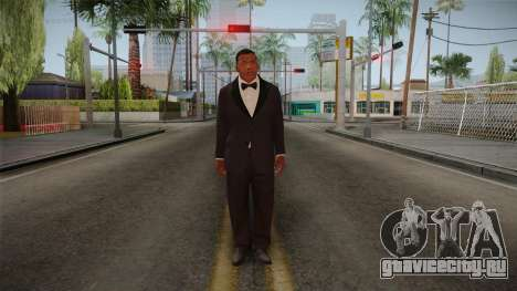 GTA 5 Franklin Tuxedo v2 для GTA San Andreas второй скриншот